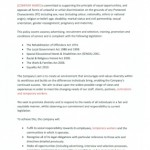 Template equality and diversity policy http for Diversity policy template
