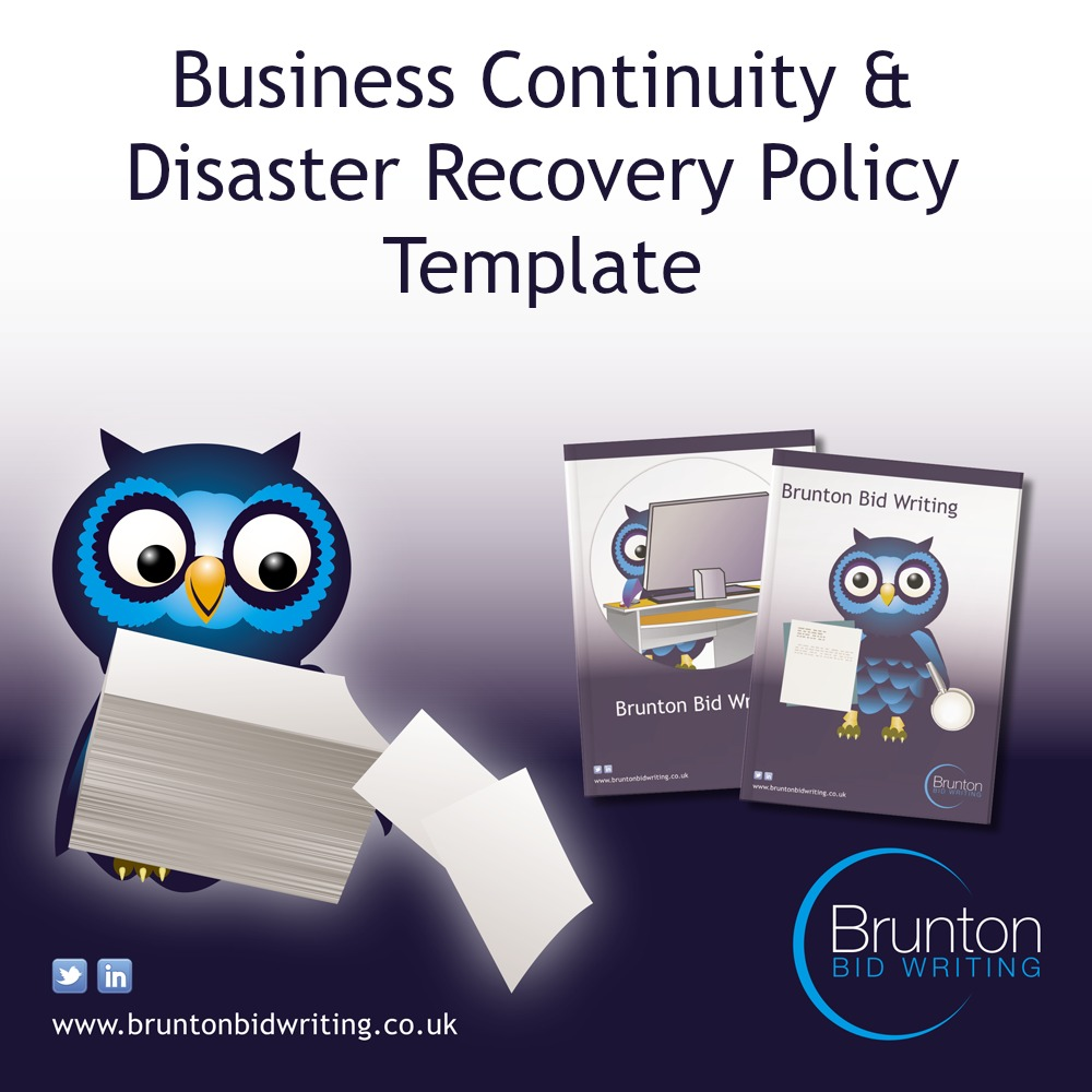 Business Continuity & Disaster Recovery Policy Template