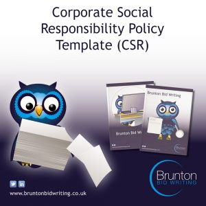 Corporate Social Responsibility Policy Template (CSR)