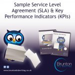 Sample Service Level Agreement (SLA) & Key Performance Indicators (KPIs)