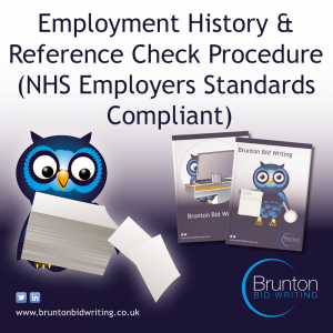 Referencing & Employment History Check Procedure – NHS Employers Standards Compliant