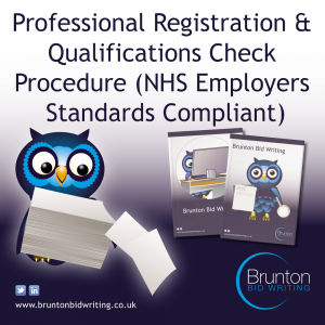 NHS Professional Registration Checks Procedure