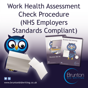 Work Health Assessment Checking Procedure – NHS Employers Standards Compliant