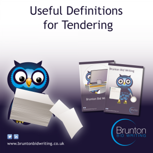 Useful Tender Definitions