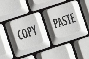 How to use the Copy and Paste Function in Recruitment Tenders