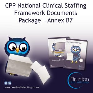 CPP National Clinical Staffing Framework Documents Package – Annex B7