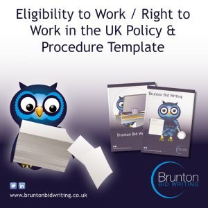 Right to Work / Eligibility to Work in the UK Policy Template for Recruitment Agencies