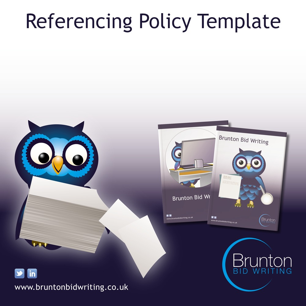 Referencing Policy Template