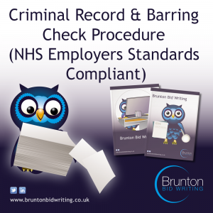 Criminal Record & Barring Checks (DBS) – NHS Employers Standards Compliant