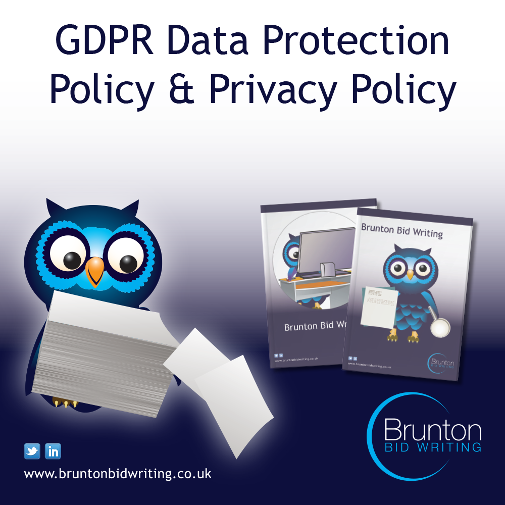 GDPR Data Protection Policy & Privacy Policy